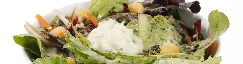 meze eatery organic non gmo salad